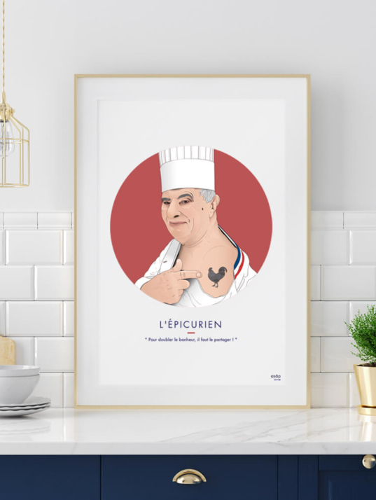 Affiche ASAP Paul Bocuse Rouge
