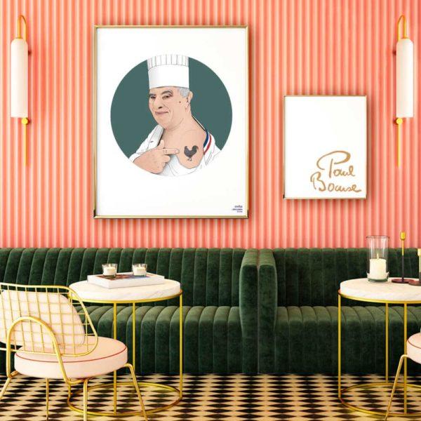 Affiche ASAP Paul Bocuse Vert