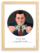 Affiche ASAP Loup de Wall Street Gris Citation Cadre brut