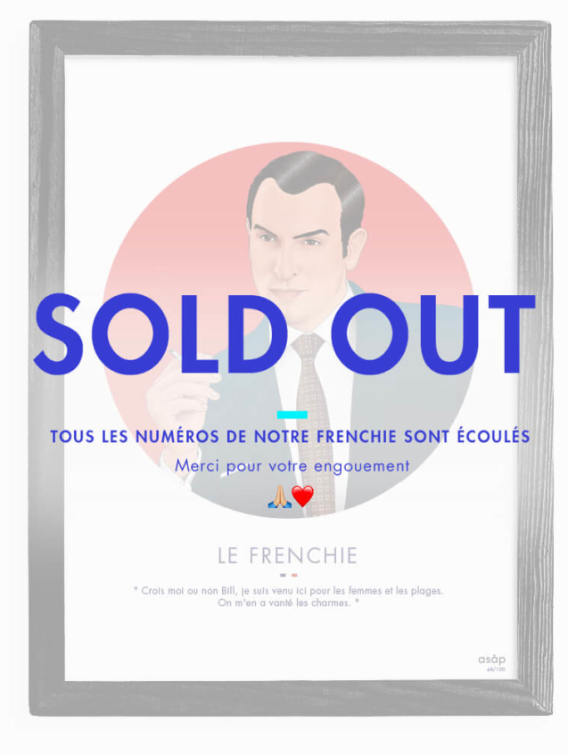 OSS117-rouge-sold-out