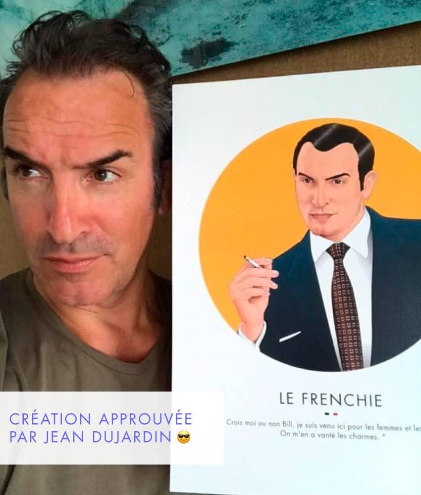 Affiche Jean Dujardin ASAP