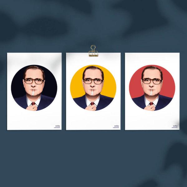 Cartes A5 ASAP Jacques Chirac